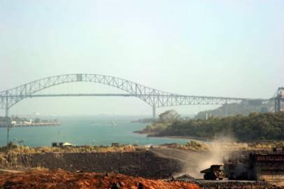 Canale di Panama (RODRIGO ARANGUA/AFP/Getty Images))