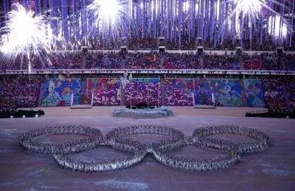 Cerimonia di chiusura Sochi 2014 (getty images)