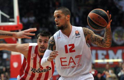 Olympiacos Pireo-Armani Milano (getty images)