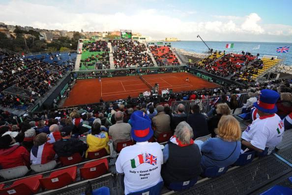 Tennis, Coppa Davis: Italia-Gran Bretagna sull'1-0. Oggi si chiude il match Seppi-Murray, poi il doppio