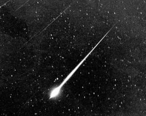 Meteorite luminoso (getty images)