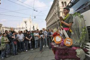 Manifestazione antagonista per il Primo Maggio (Getty Images)