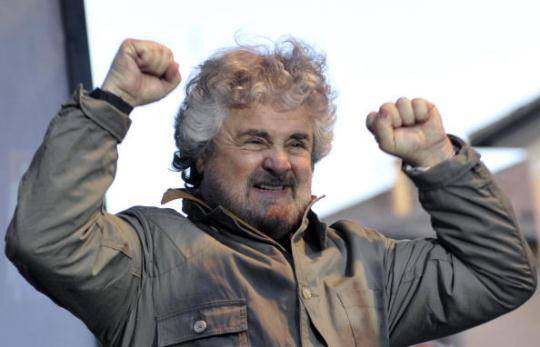 "Movimento 5 Stelle unica alternativa all'estremismo. Beppe Grillo: ""In Italia è accaduto un piccolo miracolo"""