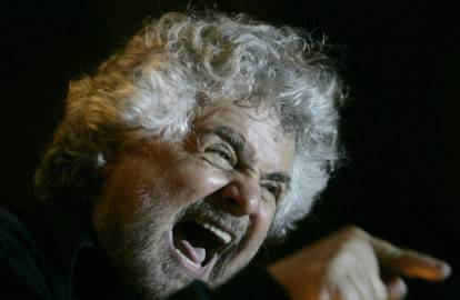 Beppe Grillo (MARCELLO PATERNOSTRO/AFP/Getty Images)