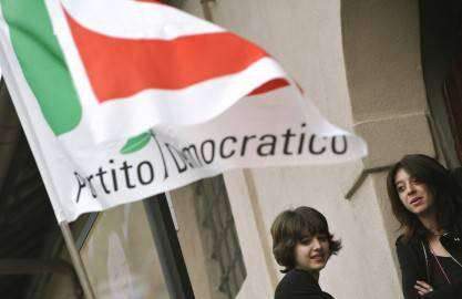 Partito Democratico ( ANDREAS SOLARO/AFP/Getty Images)