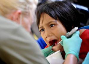 Bambino dal dentista (Getty Images)