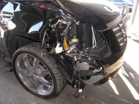 Danno da sinistro automobilistico (Getty Images)