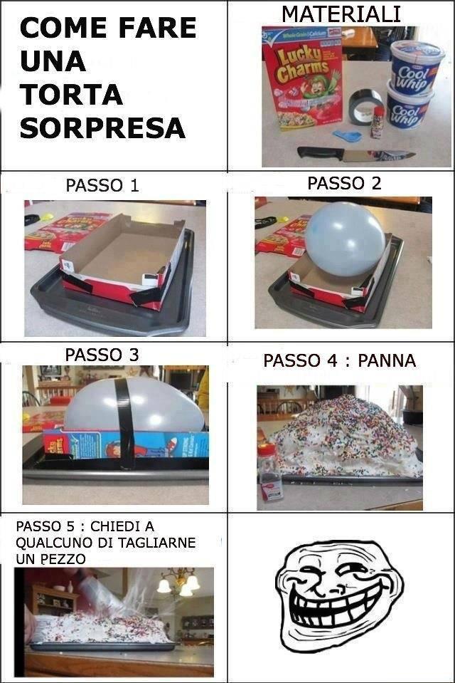Come fare una torta a sorpresa