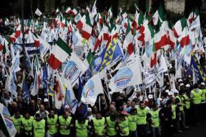 Una manifestazione del Pdl (Getty Images)