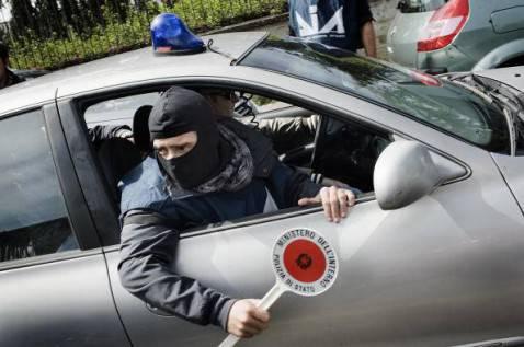 Agente dell'Antimafia (ROBERTO SALOMONE/AFP/Getty Images)