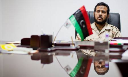 Abdul Hakim Belhaj libia 450x270 Guerra in Libia, Al Mahmoudi: Gheddafi combatterà fino alla morte