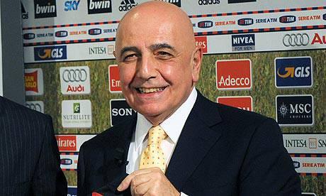 Mondiale per Club: Adriano Galliani tifa Inter