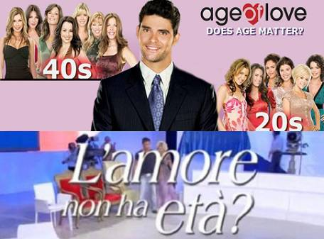 "UOMINI E DONNE / L'amore non ha età?, copiato dal Reality Show ""Age of Love"""