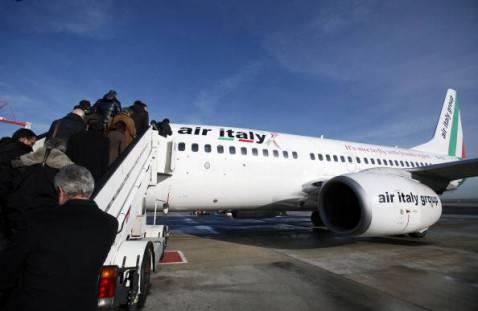 Aereo della Air-Italy meridiana (Getty Images)