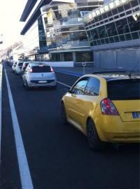 AmkPo KCMAA3bW1 201x270 Fiat Punto e Fiat Bravo si sfidano a Monza: a tutto gas per lo speed day (fotogallery)