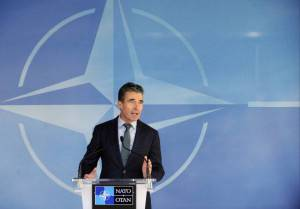 Anders Fogh Rasmussen, segretario generale Nato (Getty images)
