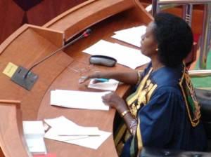 Anna Semamba Makinda 300x224 Il Parlamento della Tanzania elegge la prima donna speaker