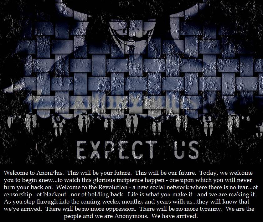 Arriva AnonPlus, il Facebook degli hacker di Anonymous