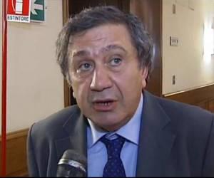 Antonio Azzollini (Pdl), presidente della Commissione bilancio ed ex sindaco di Molfetta (screen shot youtube)