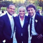 Carlo Conti si è sposato, foto Twitter