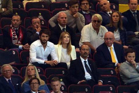 Barbara Berlusconi e Adriano Galliani (Getty Images)