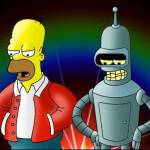 I Simpson vs Futurama, Homer vs Bender: chi preferite? Le due sitcom animate chiuderanno?
