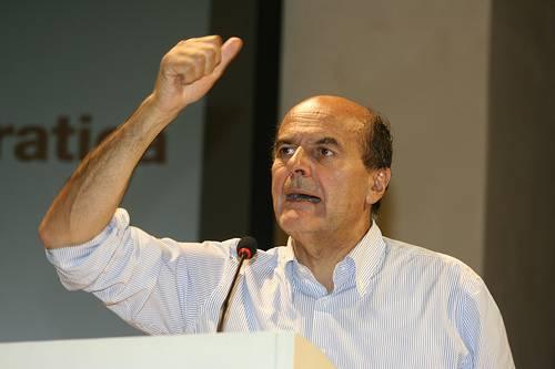 Il segretario del Pd Pier Luigi Bersani