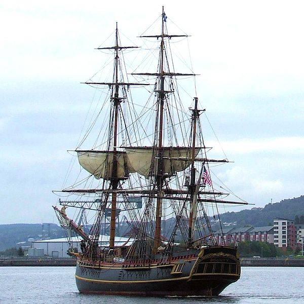 23 dicembre 1787: salpava oggi il celebre Bounty