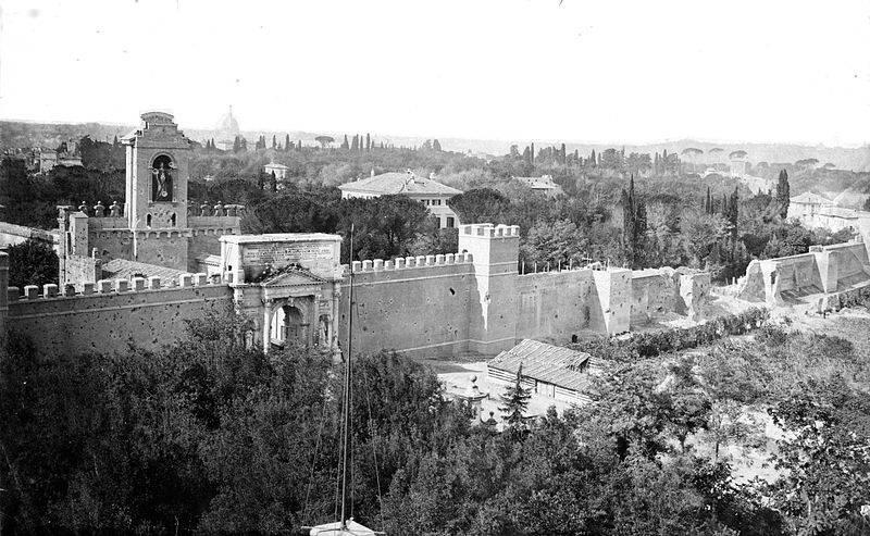 20 settembre 1870 la breccia di porta pia a roma - San michele a porta pia ...