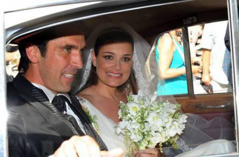 Buffon e Alena Seredova (Photo by Michaela Feuereislova /isifa /Getty Images)