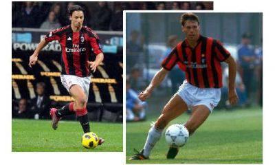 Ibrahimovic vs Van Basten: scontro tra giganti, tra passato, presente e futuro del Milan