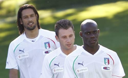 Italia-Costa d'Avorio, l'esordio di Prandelli e il debutto del tridente Amauri-Cassano-Balotelli