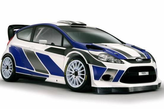 FORD FIESTA WRC / Rally, ecco la nuova vettura per il mondiale 2011
