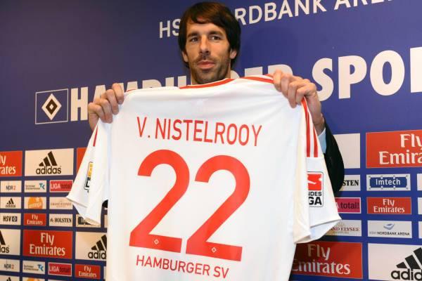 Calciomercato Real Madrid: l'Amburgo alza un muro per Van Nisterlooy
