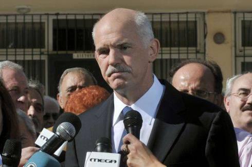 Elezioni in Grecia, resiste il partito socialista Pasok del premier Papandreou