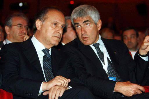 """Governo: Casini e Cesa invitano i tesserati dell'Udc alla mobilitazione dato il """"fortissimo"""" rischio di elezioni anticipate"""