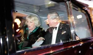 assalto alla limousine di Carlo e Camilla