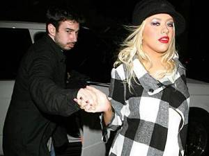 Christina Aguilera e il fidanzato arrestati per ubriachezza