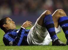 Inter: Cordoba out fino alla partita con la Roma