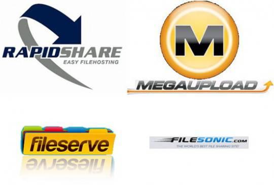 DL SITES e1327405006791 Megavideo: tutti i siti di filesharing tremano, Filesonic e FileServe modificano il servizio