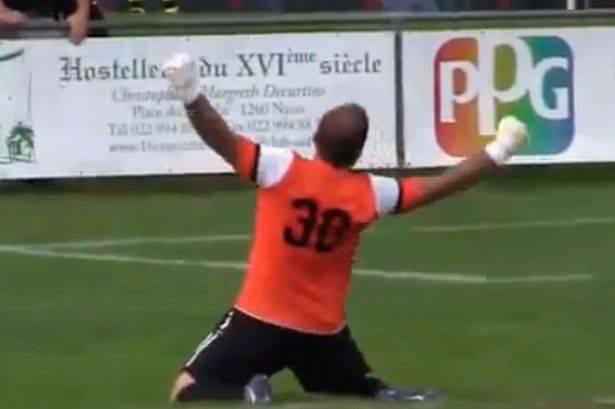 Calcio Svizzero: incredibile gol del portiere dalla sua area (Video You Tube)