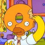 Una scala mobile con Homer Simpson e i suoi adorati Donuts, le ciambelle preferite! (Foto)