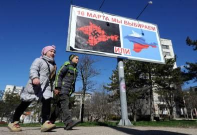 Elezioni in Crimea (Getty Images)