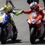 MotoGp 2011: Casey Stoner parla di Valentino Rossi