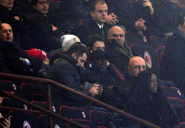 Il primo gol di Honda davanti agli occhi di Seedorf: 3-1 del Milan allo Spezia