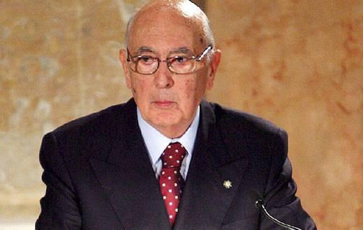 Giorgio Napolitano: ho deciso di affidare al Professor Senatore Mario Monti la formazione del nuovo Governo