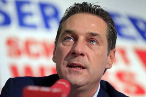 Heinz-Christian Strache (ALEXANDER KLEIN/AFP/Getty Images)