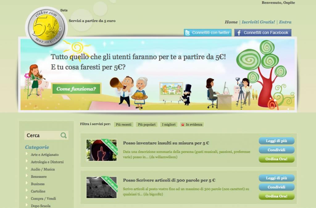 Giovani imprenditori lanciano un sito che offre servizi low cost