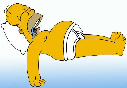 Homer Simpson 130 episodi dei Simpson in 3 minuti e nello stesso schermo: Bellissimo!!!