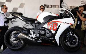 """Honda CBR1000R """"58 SIC"""" by Aldo Drudi"""